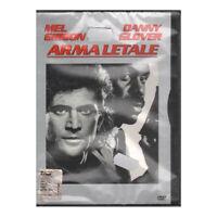 Arma Letale DVD Mel Gibson / Danny Glover Warner SNAPPER Sigillato
