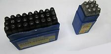 GROZ LETTER AND NUMBER COMBINATION STAMPS 4MM DIAMETER NEW 4MM STEEL STAMPS