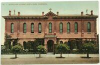 1900's Notre Dame Academy Santa Clara California Street View Building Postcard