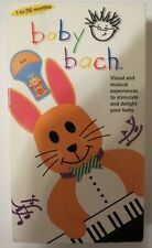 BABY EINSTEIN ~ BABY BACH ~ VISUAL/MUSICAL  ~ VHS, 2003 ~ Ages 1-36 mo ~1+ SHIP