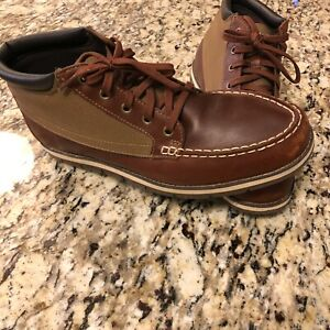 Timberland Earthkeepers Boots Brown Leather 10.5