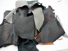 1 lb Bulk Scrap Leather 1 to 3 oz Cowhide leather Craft Pieces