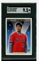 2018 Topps Shohei Ohtani Rookie  Archives Coming Attraction SGC 9.5 Gem Mint