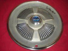 "OEM 1965 1966  Ford Fairlane & Galaxie 500, GT390 Hubcap, 15"" Wheel Cover"