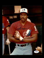 Andre Dawson PSA DNA Coa Hand Signed 8x10 Photo Autograph