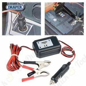 ECU MEMORY SAVER 12V Car Battery Removal/Swap Clock/Radio Code Save Settings