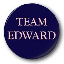 TEAM EDWARD - 1 inch / 25mm Button Badge - Twilight RPattz Eclipse New Moon