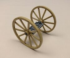 NEW Lego Wheels Western Minifig Cowboy Wagon Wheels & Axle 56mm Giant DARK TAN