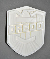 Judge Dredd 3d 1:1Scale Movie Replica Badge Resin Raw Cast - Halloween costume