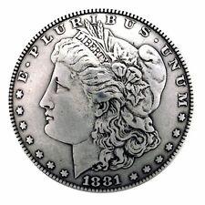 """Western Equestrian Tack (6) Morgan Silver Dollar Reproduction Conchos 1-1/2"""""""