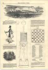 1846 Costa Ardiente acantilados Dorset pluviómetro intercambio Real el Príncipe Alberto's Fathe