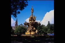 666036 Fountain Princes Street Gardens Edinburgh Scotland A4 Photo Print