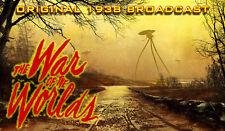 H.G. Welles War Of The Worlds - Original 1938 Broadcast - Audio CD