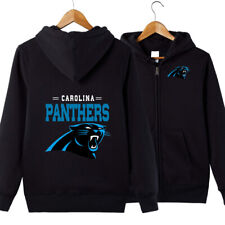 Carolina Panthers Team Hoodie jacket Zip Up casual coat Sweatshirt FAN'S Gift