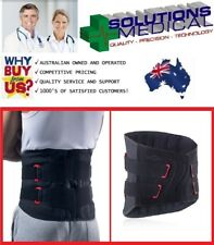 DONJOY IMMOSTRAP BACK SUPPORT BRACE - LOWER BACK PAIN, DISC HERNIATION, SCIATICA