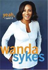 Yeah, I Said It, Sykes, Wanda, 0743482697, Book, Good
