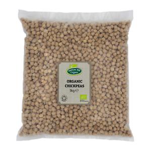 Organic Chickpeas 5kg Certified Organic