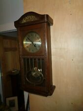 Antique-Oak-German-Box Regulator Clock-Ca.1915-To Restore-#T263