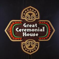 Polynesian Themed Sign / Plaque - Great Ceremonial House ( Disney Resort Inspire