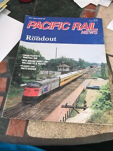 Pacific Rail News #356 1993 July Rondout UP montana SUb Willamette & Pacific