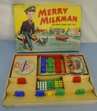 VINTAGE MERRY MILKMAN EXCITING GAME AND TOY BOARD GAME HASBRO