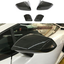 2PCS Dry Carbon Fiber Side Mirror Housing Cover For Lamborghini Gallardo 08-14