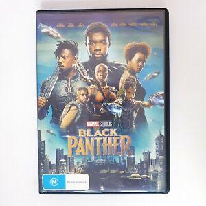 Black Panther Movie DVD Region 4 AUS - Marvel Superhero Action