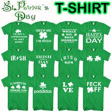 St Patricks Día camiseta Duende Irlanda irlandés Paddy Camiseta Graciosa pub cerveza borracho