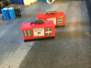3d Printed Red Generator Would Suit 1:148 Scale N Gauge