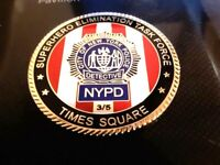 CRAZY RARE NYPD TIME SQUARE CHILD COIN NUMBER 3 OF 5 CMANDALORIAN HALLENGE COIN