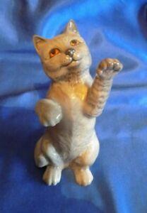 BESWICK ~ PERSIAN CAT~ On Hind Legs . No 1883 GREY