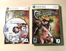 Onechanbara: Bikini Samurai Squad (Microsoft Xbox 360, 2009) Complete CIB