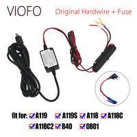 Original Car DVR Hardwire + Fuse Kit Fr VIOFO A119 A119S A118C Mini Recorder