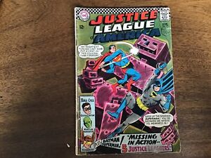 DC comics Justice league of America 1960-1987 issue 52 1967