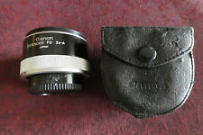 Excellent Canon Extender FD 2x-A Teleconverter Lens For Canon F1 A1 AE1 IN CASE