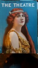 RARE MArch 1910 The Theatre magazine with Julie Opp cover