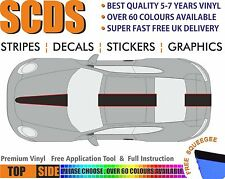 Car stickers Stripes Decals Premium Quality Vinyl Fits Porsche TOP  #06