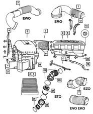 Genuine Mopar Air Cleaner Bracket 53032453AE
