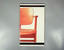 Peltonen Jamo Ilmari Tapiovaara; rare 1984 exhibition catalogue furniture design