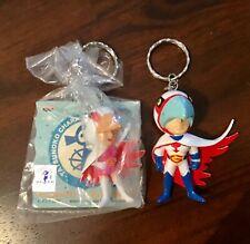 Banpresto G Force Battle of the Planets Keychain Mini Figure Princess & Mark