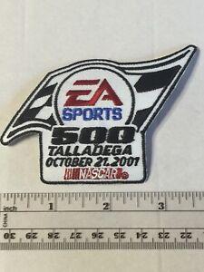 VINTAGE 2001 TALLADEGA NASCAR EA Sports 500 Race Team Car PATCH