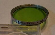 New ListingZeiss Ikon Stuttgart S 40.5mm Screw-In Green 354 Camera Lens Filter - Germany