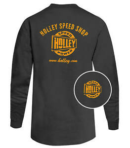 Holley 10048-XLHOL Holley Speed Shop Long Sleeve T-Shirt