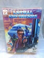 Lethal Enforcers Sega Genesis Genesis, 1993; Big Box
