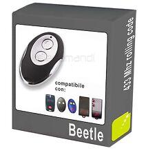 Radiocomando telecomando Beetle compatibile BFT Mitto 2A apricancello 433 Mhz