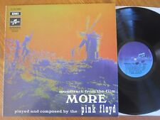 VINYL LP PINK FLOYD MORE OST RARE COLUMBIA PURPLE & BLUE LABEL WATERS GILMOUR EX