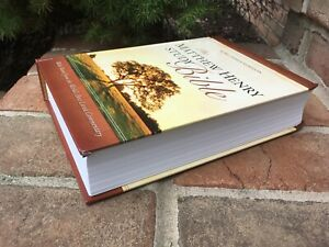 KJV Matthew Henry Study BIBLE - Hardcover