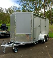 6x12ft Enclosed Trailer