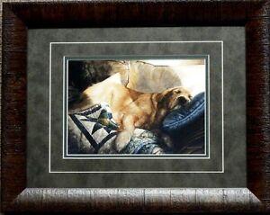Sueellen Ross Golden Dreams Dog Art Print-Framed 19 x 15
