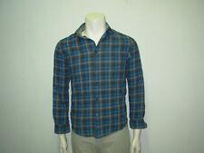 CELIO Chemise bleue et grise à carreaux S